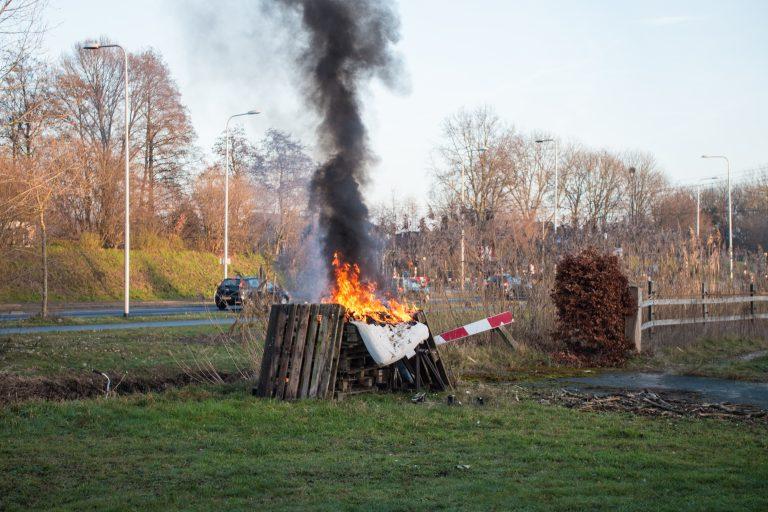 Brand oudejaarsdag Nijkerk